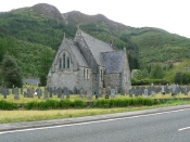Church nr Glencoe village