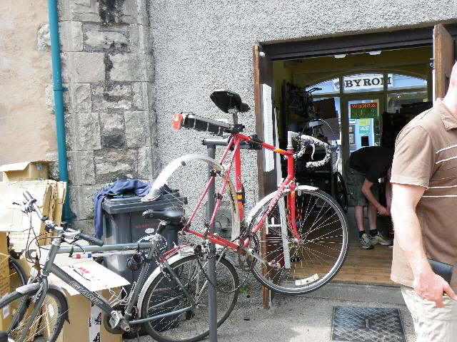 Bike fix at Kendal