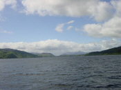 Loch Ness - towards Inverness