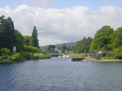 Loch Ness - towards Fort Augustus