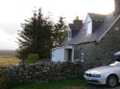 The cottage at Crask Inn