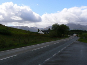 View towards Ben Nevis