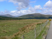 View towards Glengarry Forest N of Spean Bridge